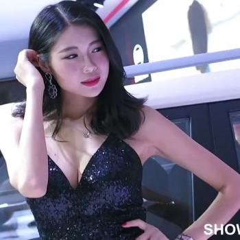 性感车模 2014广州车展182 艳丽的