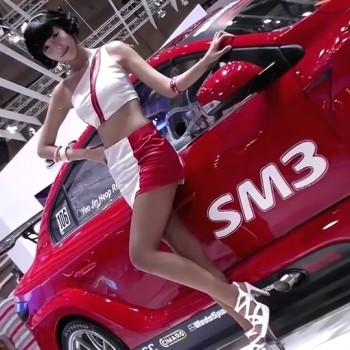 性感车模 2012韩国车展16