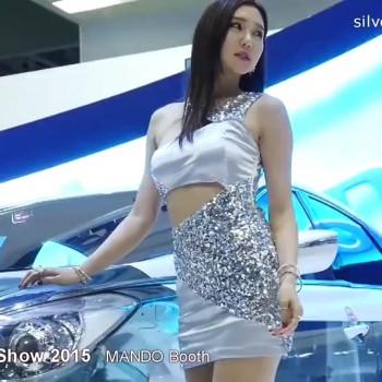性感车模 2015韩国车展143